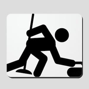Curling-A Mousepad
