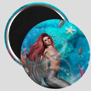 Magic Mermaid Magnet