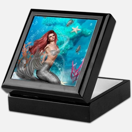 Magic Mermaid Keepsake Box