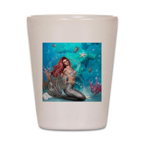 Magic Mermaid Shot Glass