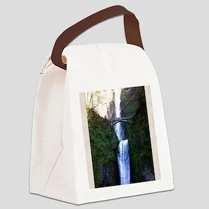 Multnomah falls, OR Canvas Lunch Bag