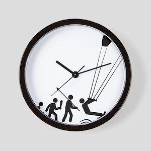 Kiteboarding-C Wall Clock