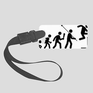 Hurdles-C Small Luggage Tag
