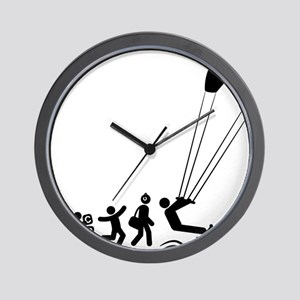 Kiteboarding-E Wall Clock