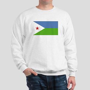 Djibouti flag Sweatshirt