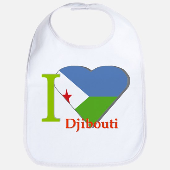I love Djibouti Bib