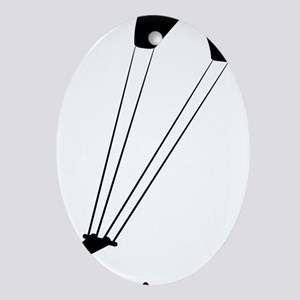 Kiteboarding-A Oval Ornament