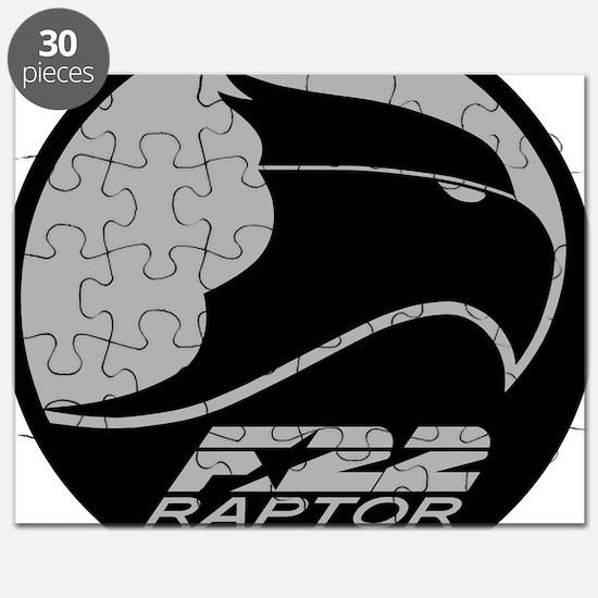 F-22 Raptor - Grey Puzzle