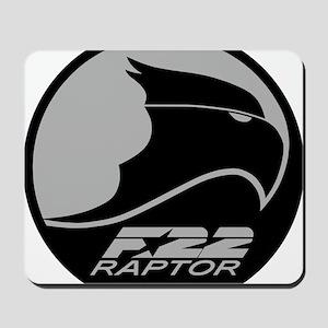 F-22 Raptor - Grey Mousepad