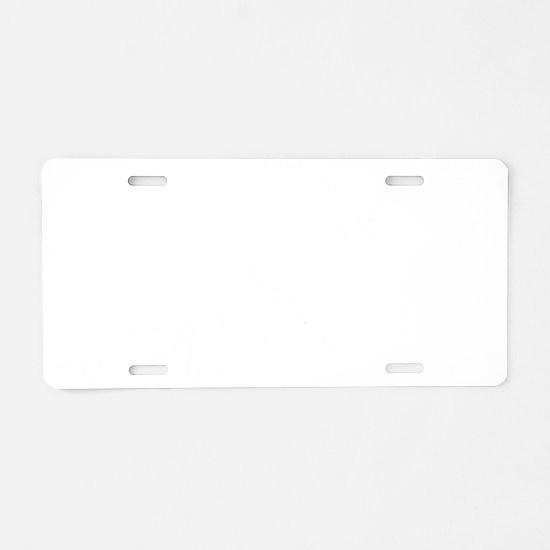 Parkour-D Aluminum License Plate