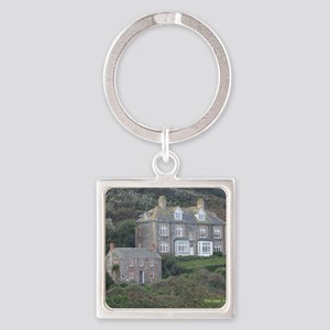 Port Isaac 1 Square Keychain