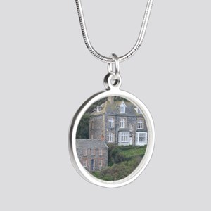 Port Isaac 1 Silver Round Necklace