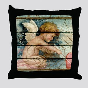 Lil Cupid Throw Pillow