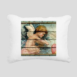 Lil Cupid Rectangular Canvas Pillow