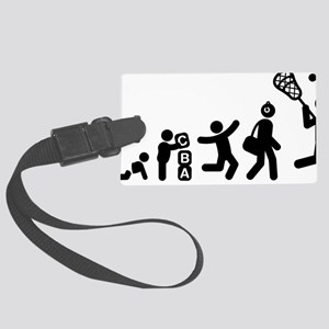 Lacrosse-E Large Luggage Tag