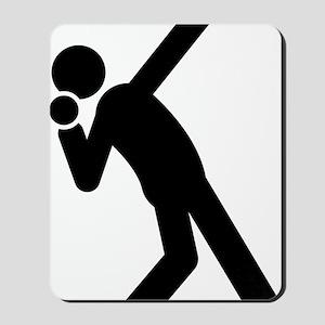Shot-Put-A Mousepad
