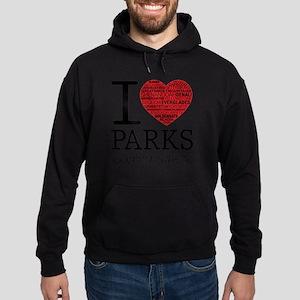 heart parks Hoodie (dark)