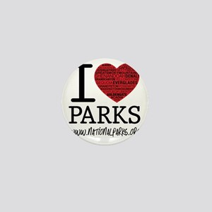 heart parks Mini Button