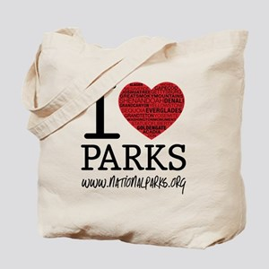 heart parks Tote Bag