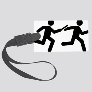 Relay-Runner-A Large Luggage Tag