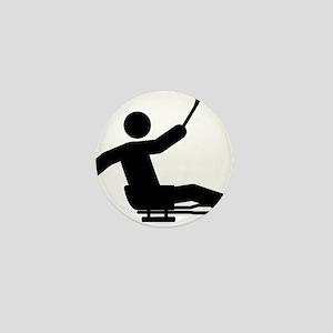 Sled-Hockey-A Mini Button