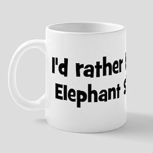 Rather be a Elephant Shrew Mug