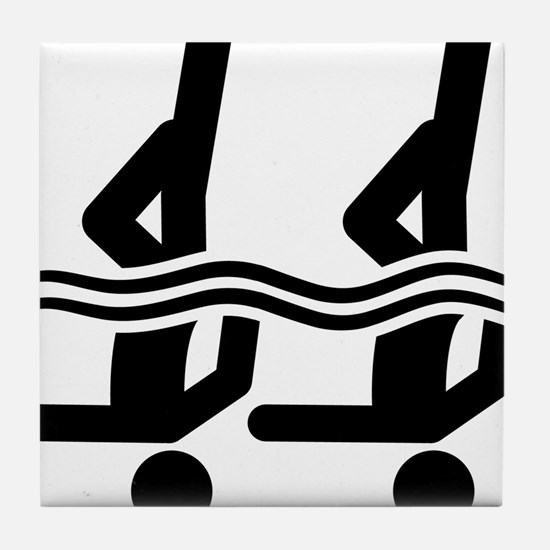 Synchronized-Swimming-A Tile Coaster