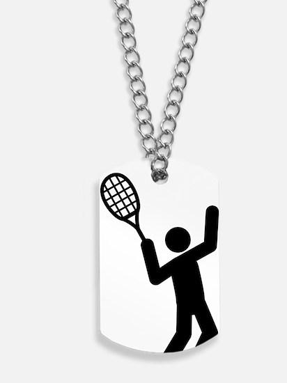 Tennis-A Dog Tags