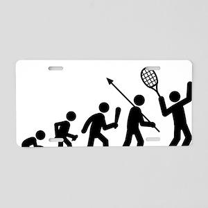 Tennis-C Aluminum License Plate