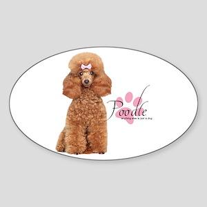 Poodle Sticker