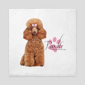 Poodle Queen Duvet