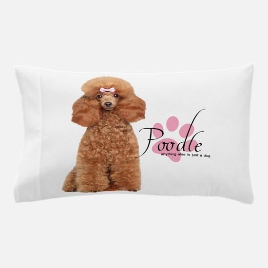 Poodle Pillow Case