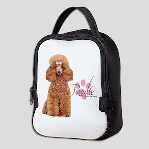 Poodle Neoprene Lunch Bag