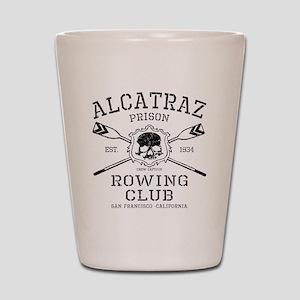 Alcatraz Rowing club Shot Glass