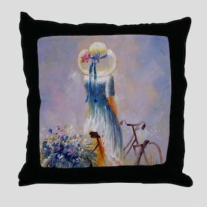 shower_curtain_kl Throw Pillow