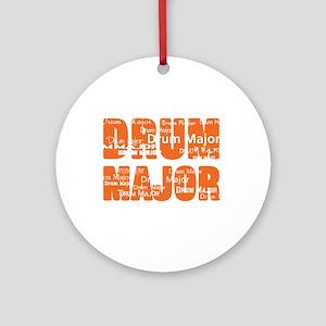Drum Major Ornament (Round)