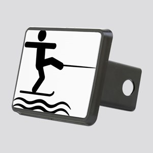 Waterskiing-A Rectangular Hitch Cover