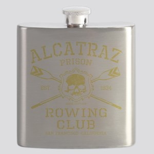 Alcatraz Rowing club Flask