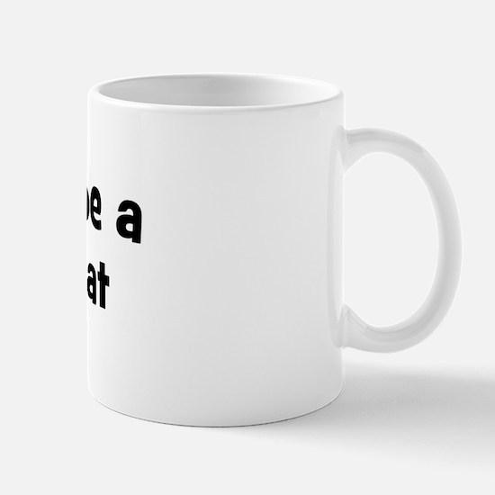 Rather be a Fishing Cat Mug