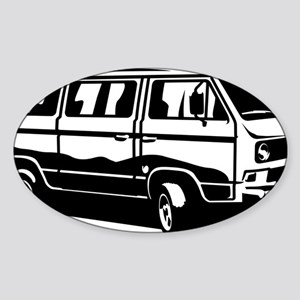 Transporter Van 3.1 Sticker (Oval)