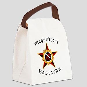 Magnificent Bastards Star logo Canvas Lunch Bag