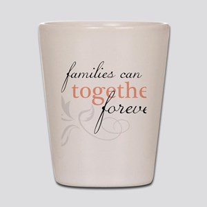 Families Can Be Together Shot Glass
