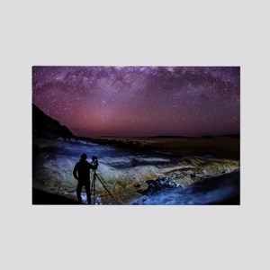 Milky Way Photographer Rectangle Magnet