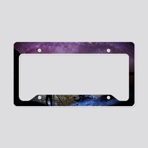 Milky Way Photographer License Plate Holder