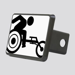Wheelchair-Racing-A Rectangular Hitch Cover