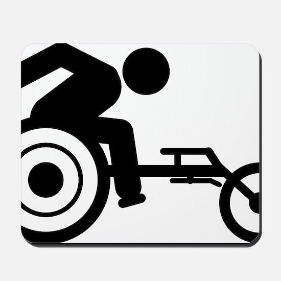 Wheelchair-Racing-A Mousepad
