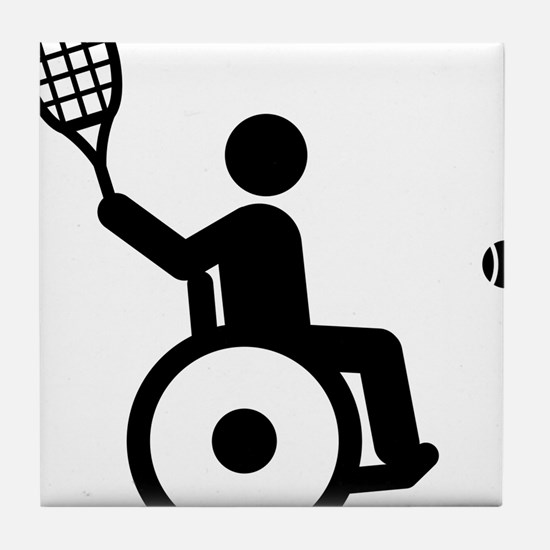 Wheelchair-Tennis-A Tile Coaster