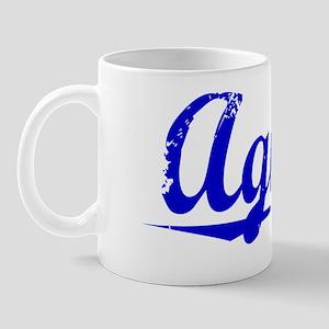 Agnew, Blue, Aged Mug