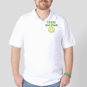 Binary 11111 Golf Shirt