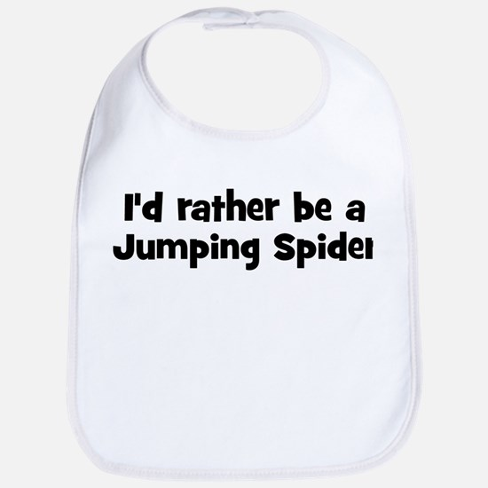 Rather be a Jumping Spider Bib